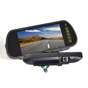 Toyota Tacoma reverse camera kit