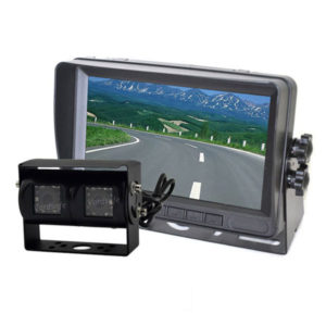 dual lens backup camera system