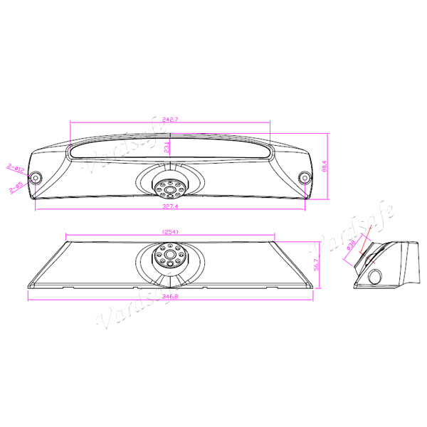 iveco daily rear view camera drawing