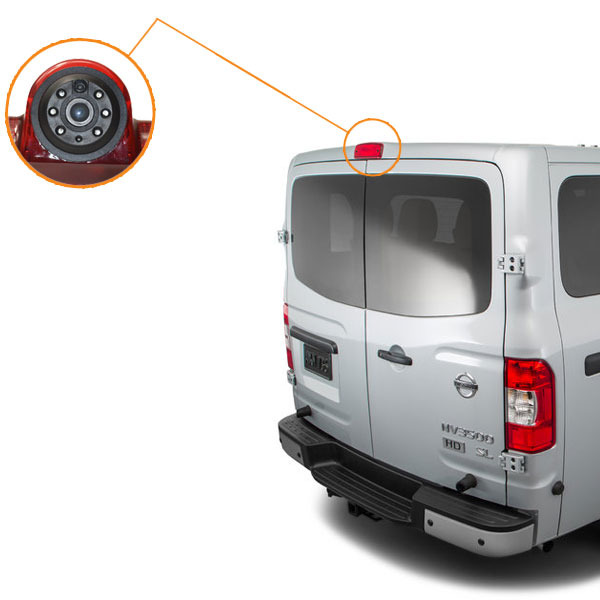 Nissan NV backup camera installation guide