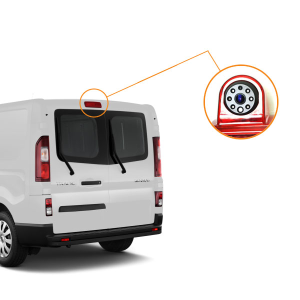 Renault Trafic backup camera installation guide