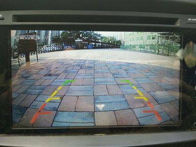 van rear view camera image quality