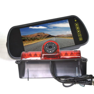 Chevy Express rear view camera