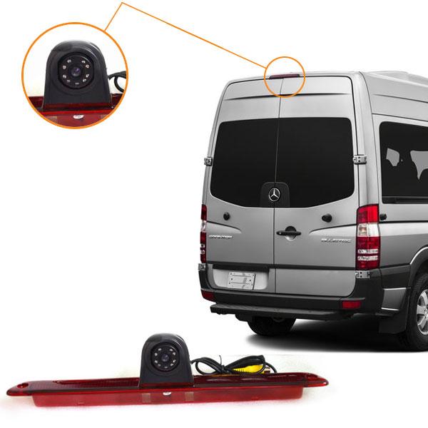 sprinter third brake light camera installation