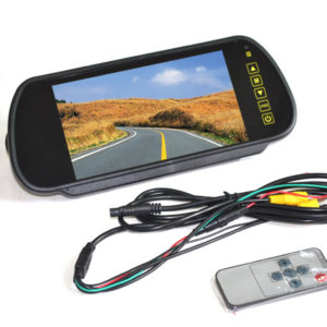 7 inch clip on rear mirror monitor