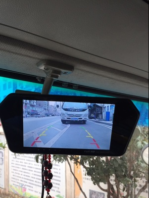van reverse camera installation