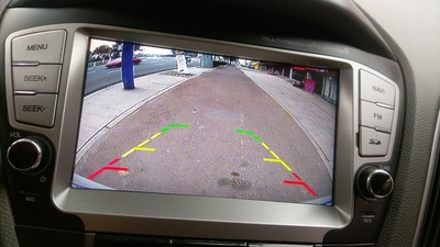 Mercedes Vito backup camera image quality