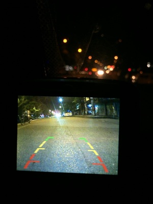 van backup camera night vision