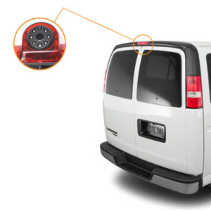chevy express camera installation