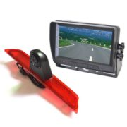 Ford Transit rear view camera system