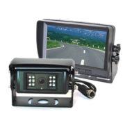 auto shutter backup camera system