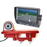 Renault Trafic reversing camera system