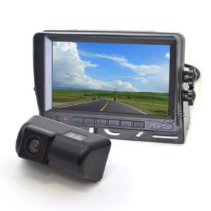 Ford Transit Connect backup camera system
