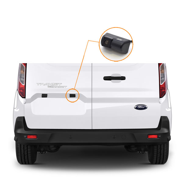 Ford Transit Connect Camera Installation Guide