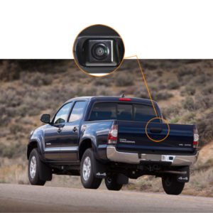 Toyota tacoma tailgate reverse camera installation guide