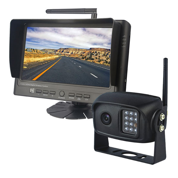 7 inch wireless backup camera system