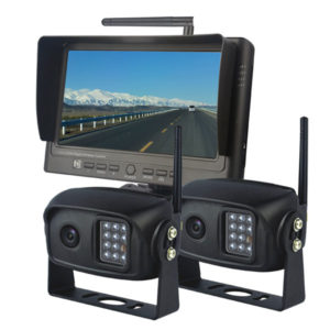 7 inch wireless rear view system