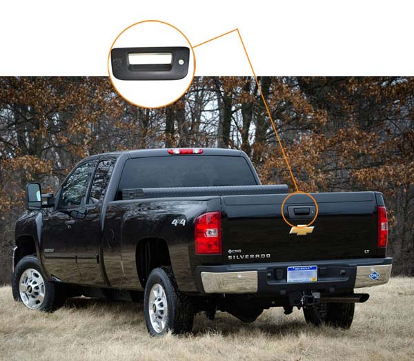 Chevy Silverado backup camera