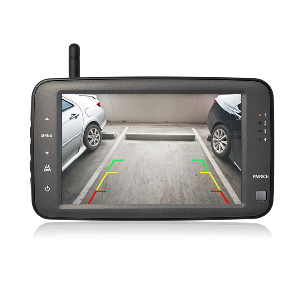 wireless backup camera image