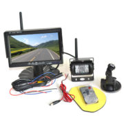 RV wireless backup camera system