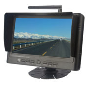 wireless rear view monitor with 4 channels