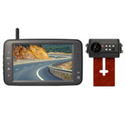 wireless license plate reverse camera kit