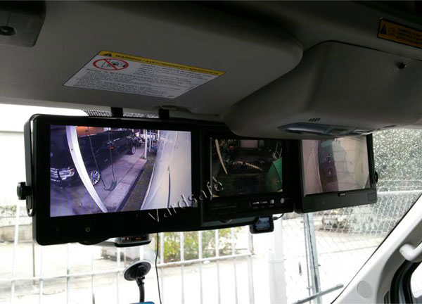7 inch rear view monitor installation