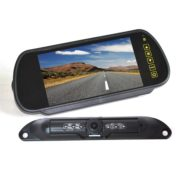license plate backup camera system