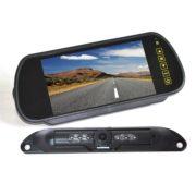 license plate backup camera system